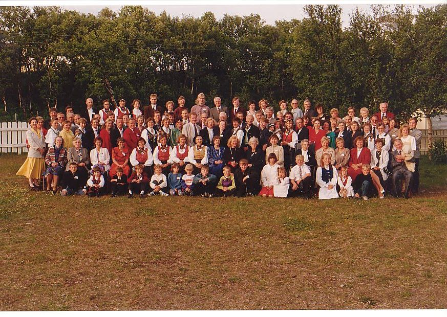 Reunion in Djupvik in 1993